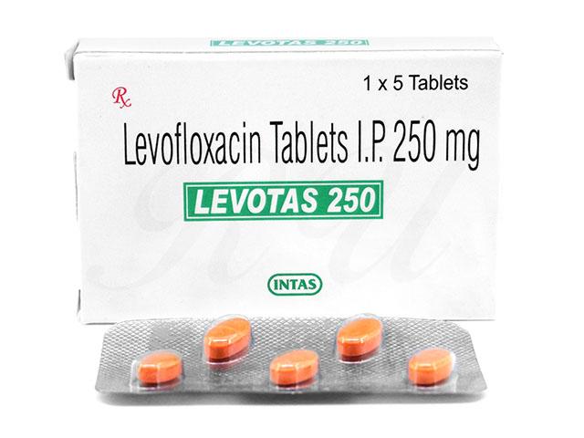 Levotas 250 mg antibiotic