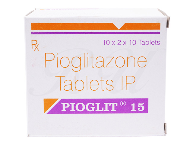 Pioglit 15 mg pill