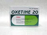 [プロザックジェネリック]オキセチン(Oxetine)20mg
