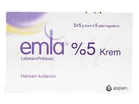 エムラクリーム(EmlaCream)5%[5g×5本+密封用シール]