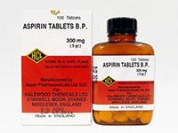 アスピリン(Aspirin)300mg