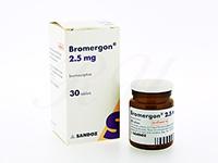 ブロマーゴン(Bromergon)ブロモクリプチン2.5mg
