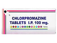 クロルプロマジン(Chlorpromazine)100mg