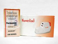 フォーモニド(Formonide)10mg1本(100mcg100回分)+専用吸入器ノボライザー1個