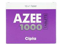 アジー(Azee)アジスロマイシン1000mg