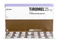 [チロナミンジェネリック]チロメル(Tiromel)25mcg