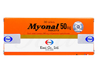 ミオナール(Myonal)50mg