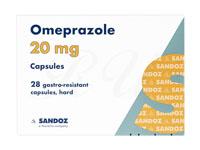 [オメプラールジェネリック]オメプラゾール(Omeprazole)20mg