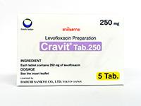 クラビット(Cravit)250mg