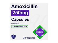 アモキシシリン(Amoxicillin)250mg