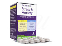 [Natrol]Stress&Anxiety(Day+Night)30錠+30錠セット