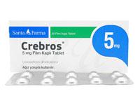 ザイザルジェネリック5mg(Crebros)