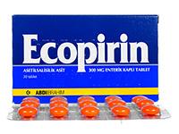 アスピリン300mg(Ecopirin)