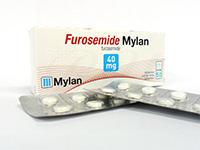 [ラシックスジェネリック]フロセミド(Furosemide)40mg・Mylan社製