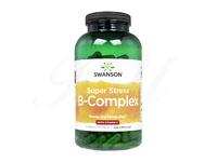 Swanson スーパーストレス・B-コンプレックス+ビタミンC240錠