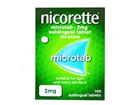 ニコレットマイクロタブ2mg