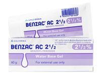 ベンザックジェル(BenzacGel)2.5%