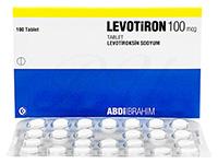 Levothyroxine100mcg100錠