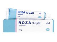 [ロゼックスジェネリック]ロザジェル(Roza)0.75%