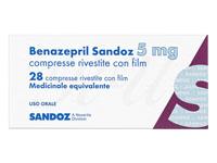 チバセンジェネリック(Benazepril) 5mg