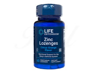 ジンク・ロゼンジ18.75mg(ZincLozenges)[LifeExtension社製]