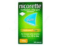 ニコレットガム(NicoretteGum)4mg[フルーツフュージョン味]