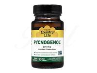ピクノジェノール100mg (Pycnogenol) 【カントリーライフ社製】