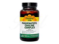 ホスファチジルコリンコンプレックス1200mg (Phosphatidyl Choline Complex) 【カントリーライフ社製】