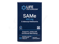 SAMe(S-アデノシルメチオニン)400mg[LifeExtension社製]