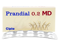 [ベイスンジェネリック]プランディアルMD(Prandial MD)0.2mg