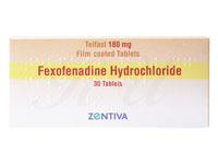 [アレグラジェネリック]フェキソフェナジン(Fexofenadine)180mg