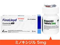 FinaLloyd1mg100tabs+(Lloyd)MinoxidilTablets5mg100tabs
