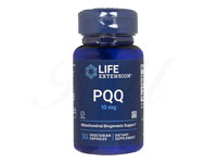 PQQキャップス・ウィズバイオPQQ(PQQ CapsWithBioPQQ)10mg[LifeExtension社製]