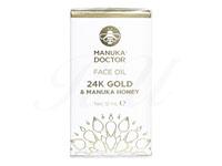 [マヌカドクター]24Kゴールド&マヌカハニーフェイスオイル(24kGold&ManukaFaceOil)