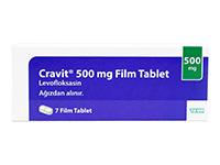 クラビット(Cravit)500mg