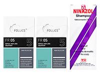 フォリックスFR05ローション60ml2本 + ニナゾルシャンプー1本