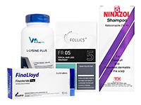 フォリックスFR05ローション60ml1本 + フィナロイド1mg30錠1箱 + ニナゾルシャンプー1本 + Lリジンプラス250錠1本