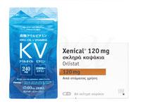 ゼニカル84錠1箱 + 南極クリルビタミン120粒1袋