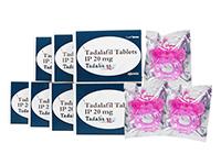 タダリスSX20mg4錠 + バイブレーションリング