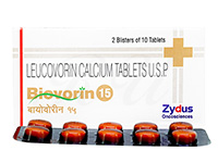 ホリナートカルシウム15mg(バイオボリン)