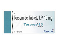 トラセミド10mg(Torpres)