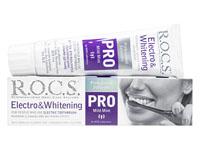 [R.O.C.S.]ロックス歯磨き粉PROエレクトロ&ホワイトニング
